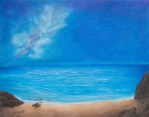 Beach-at-Night by dixie diamond