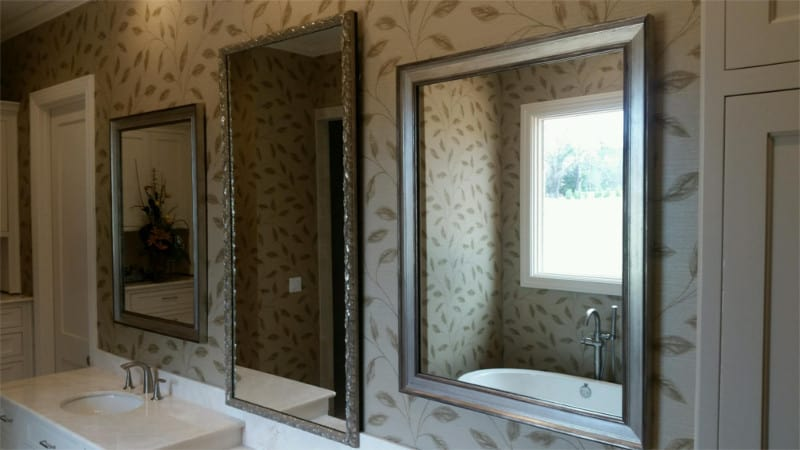 Custom Mirrors Framing gold leaf gallery tyler1