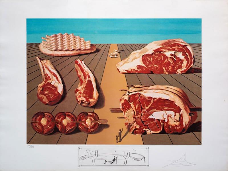 Gourmet-Beef-Salvador-Dali-Gold-Leaf-Gallery