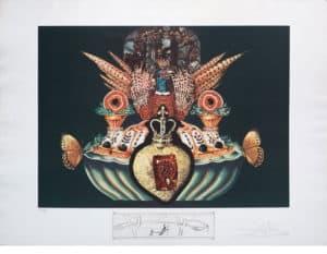 Gourmet-Pheasant-Salvador-Dali-Gold-Leaf-Gallery-Tyler,TX