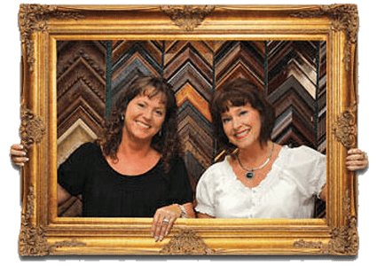 Frame Shop, Gold Leaf Gallery, Custom Frame Shop, Gold Leaf Gallery